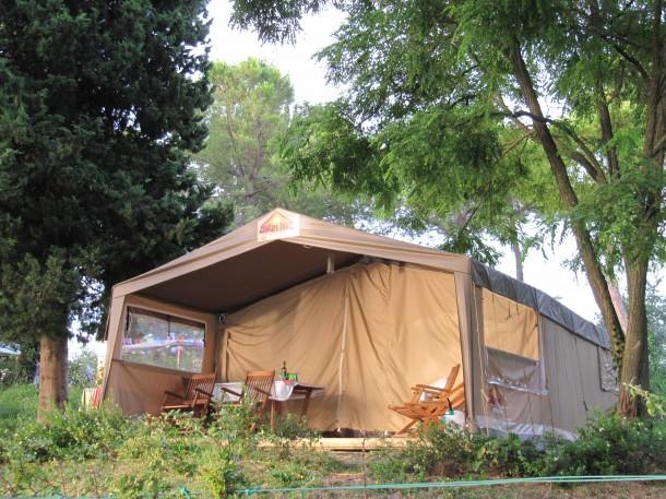 Camping aan Gardameer