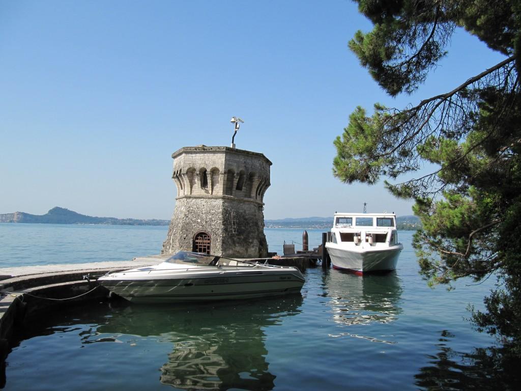 Het haventje van Isola del Garda