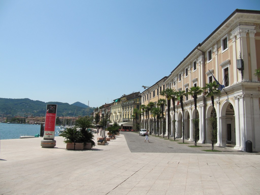 De promenade van Salo