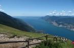Vanaf de Monte Baldo zie je pas écht hoe gigantisch groot het Gardameer wel is