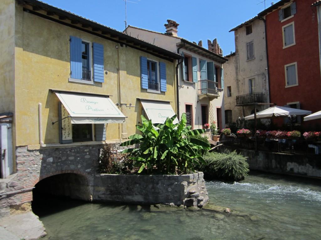 Enkele prachtige huisjes in Borghetto