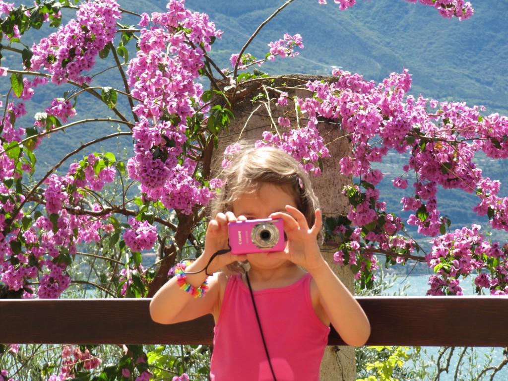 Foto's maken aan het Gardameer