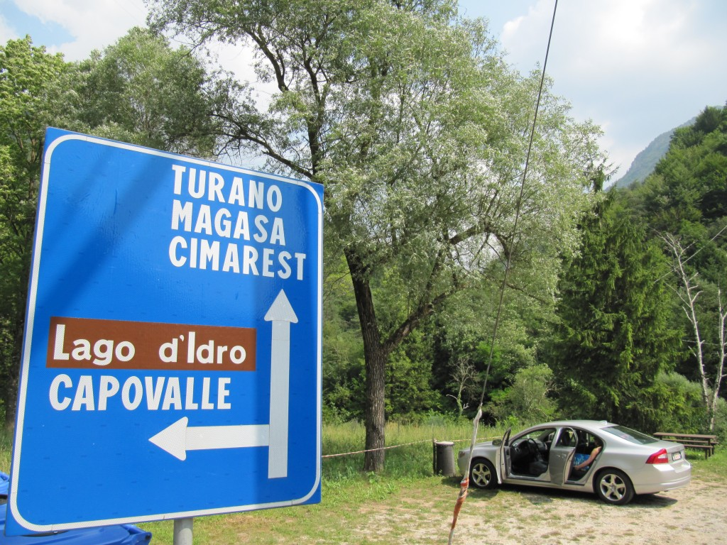 Onderweg naar Lago d'Idro