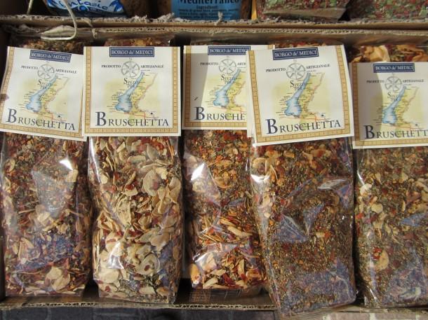 Kruiden kopen aan het Gardameer