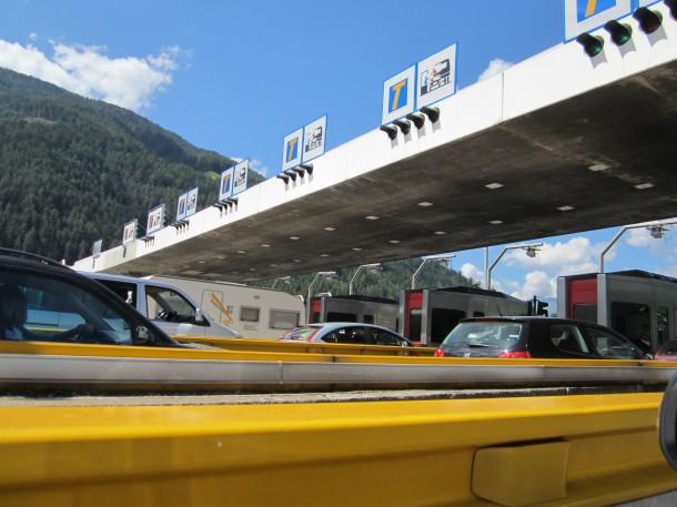 Onderweg naar het Gardameer - Lago di Garda