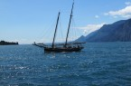 De oudste zeilboot op het Gardameer: La Siora Veronica