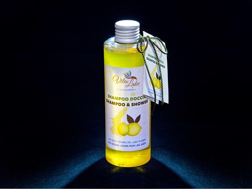 Shampoo op basis van biologische citroenen uit Gargnano aan het Gardameer