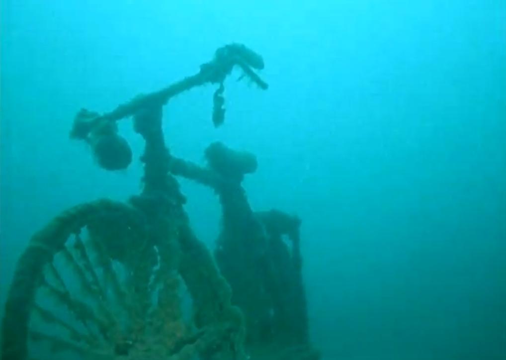 Duiken in het Gardameer
