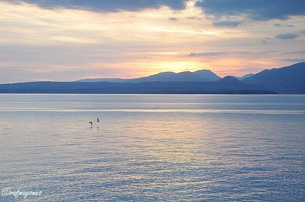 Ook in de herfst is het prachtig aan het Gardameer