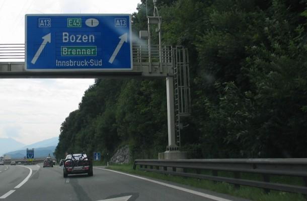 Brennero A22 A13