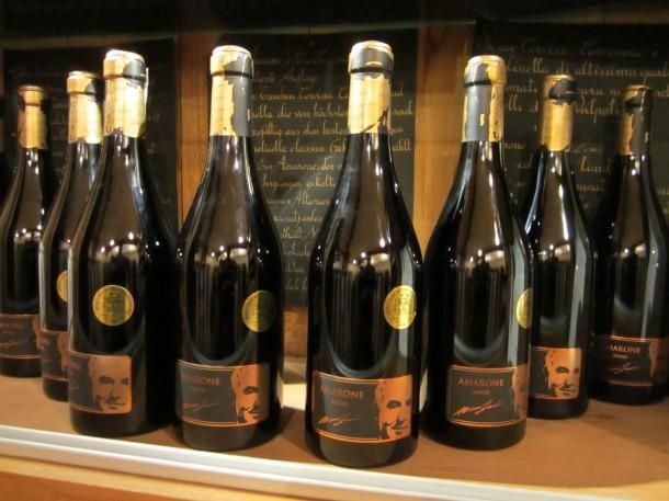 Voor de liefhebbers, een fles Amarone
