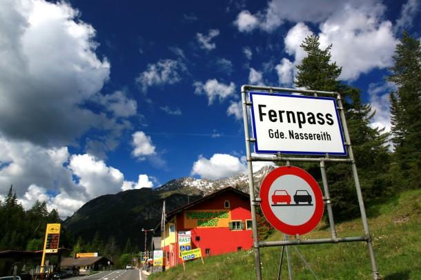 Foto's van de Fernpass in Oostenrijk
