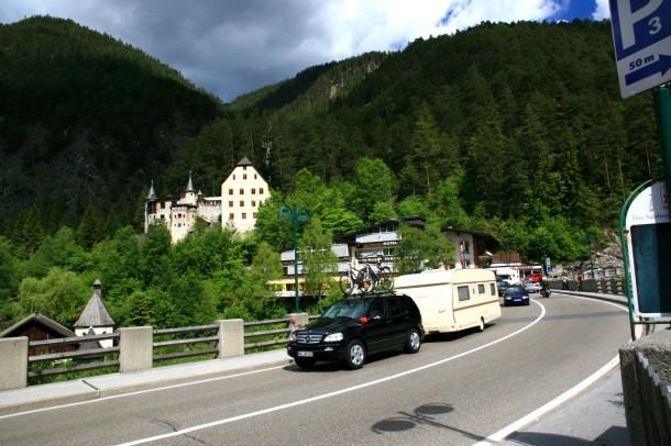 Fernpass - B179 in Oostenrijk