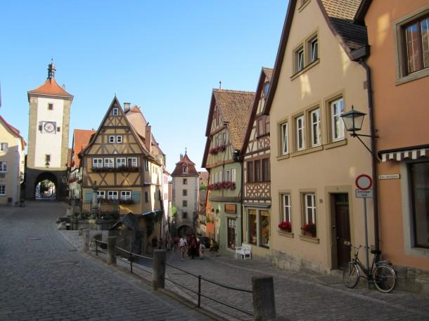 Een prachtig middeleeuws stadje langs de Romantische Strasse