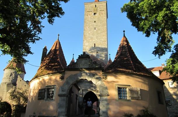 Een prachtig middeleeuws stadje in Duitsland
