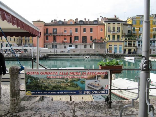 Peschiera del Garda - een stad in het zuiden van het Gardameer