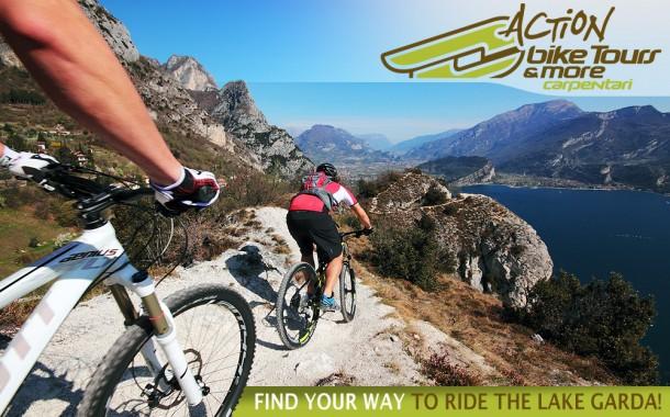 Mountainbike tochten aan het Gardameer