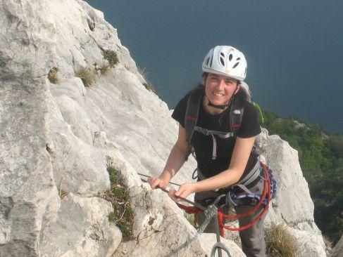 Equipe Natura - klimmen aan het Lago di Garda in Italië