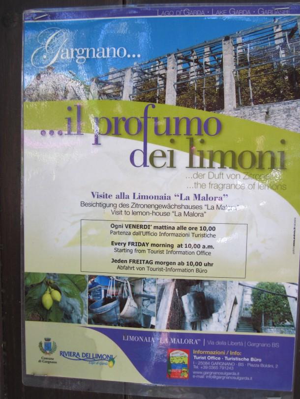 Breng een bezoek aan de Limonaia van Giuseppe in Gargnano