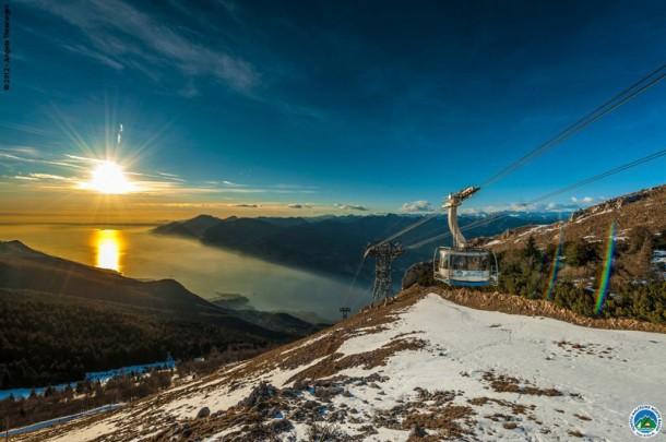 Kabelbaan Monte Baldo Gardameer