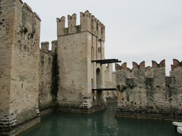 Het historische centrum van Sirmione