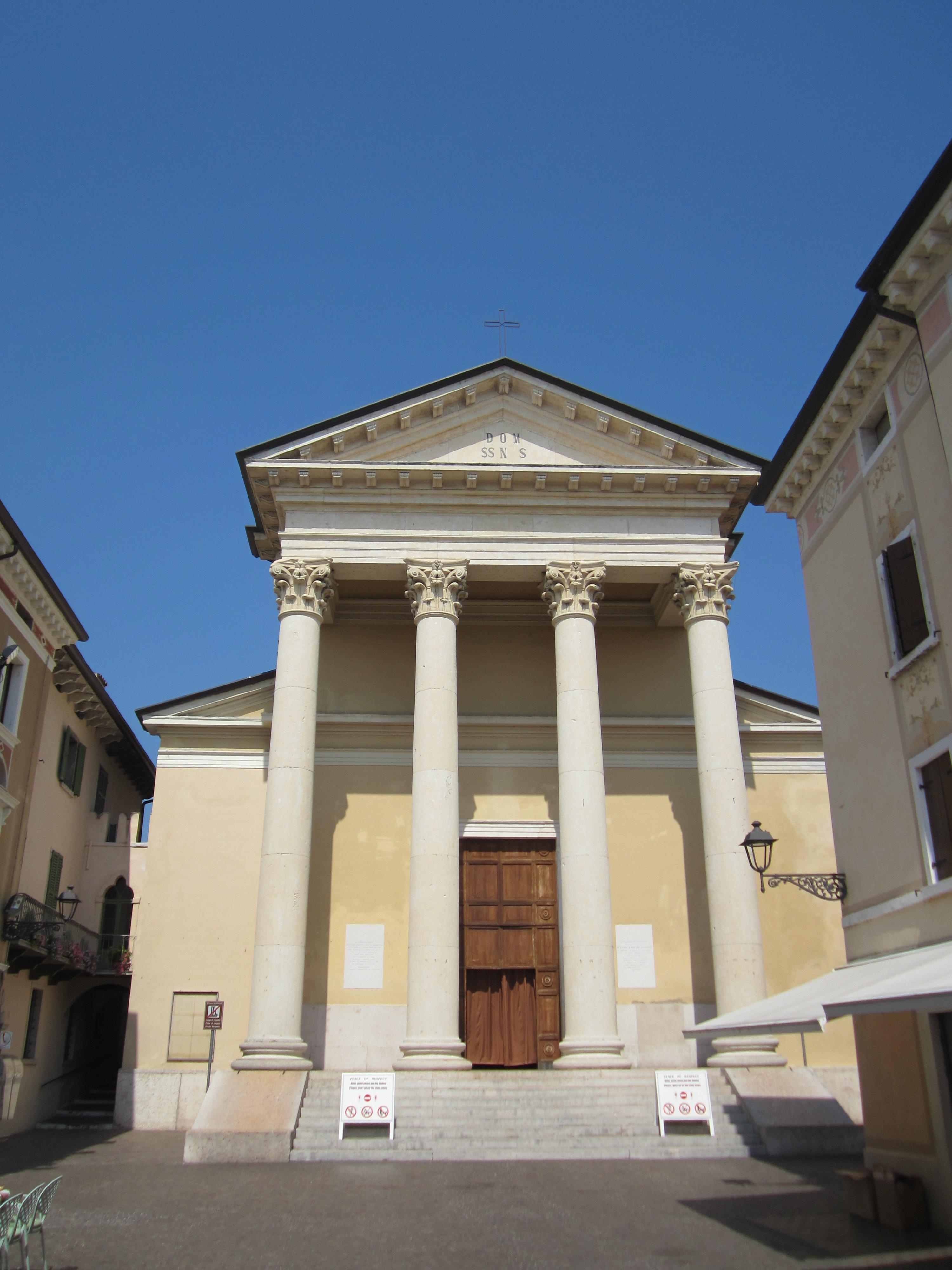 Het centrum van Bardolino
