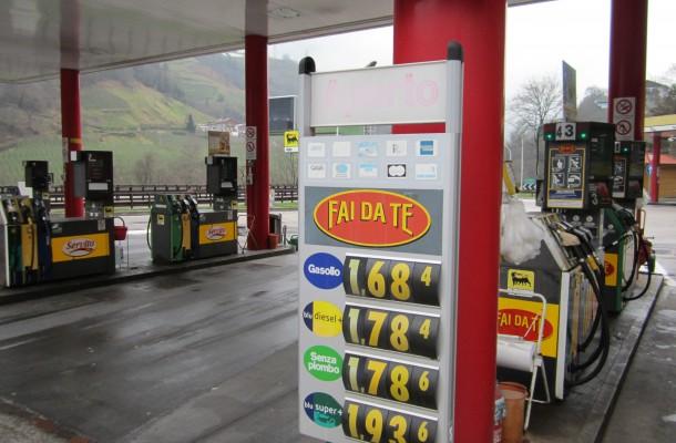 prijzen benzine oostenrijk