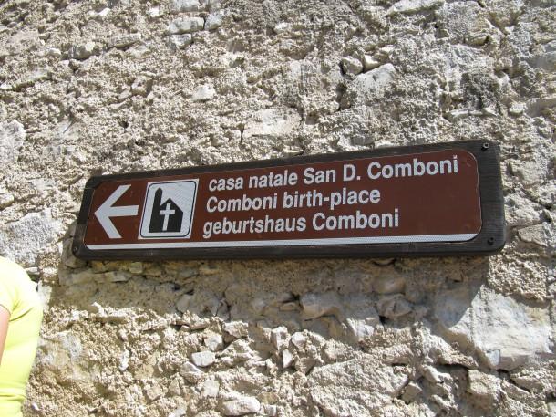 Geboortehuis Daniele Colomboni