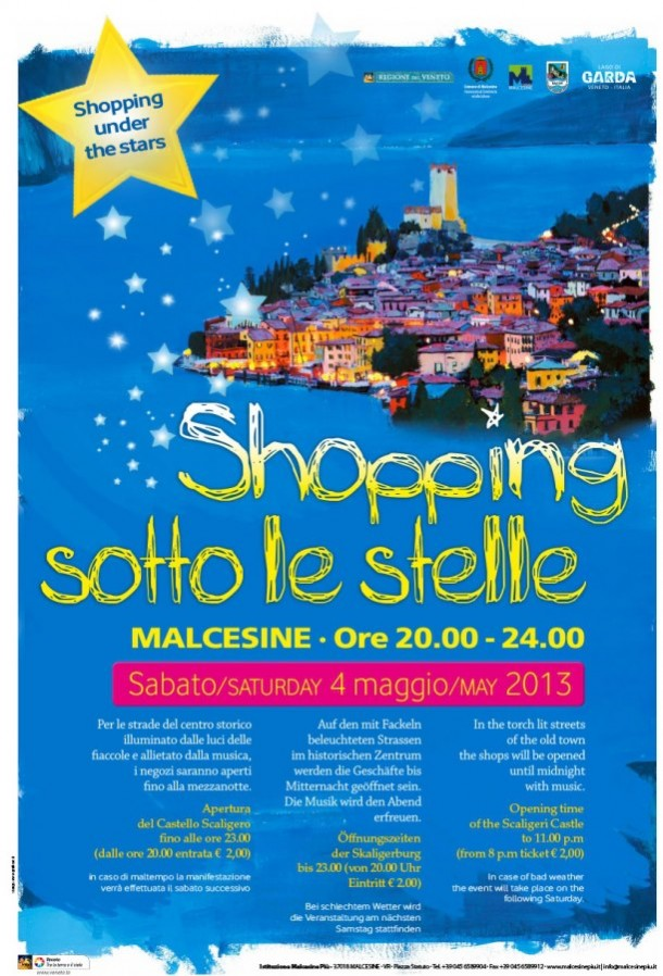 Shopping Sotto le Stelle Malcesine