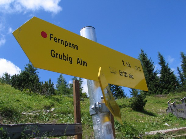 Fernpass route