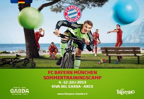 FC Bayern München Gardameer