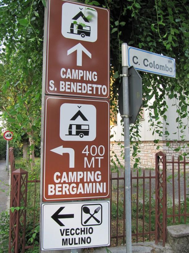 Goedkoop kamperen Gardameer