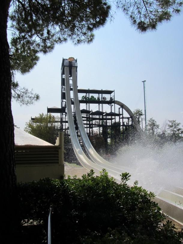 Waterpretpark aan het Gardameer, durf jij?