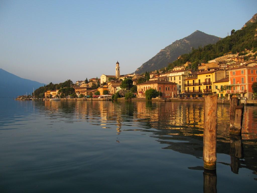 Het mooie dorpje Limone sul Garda.