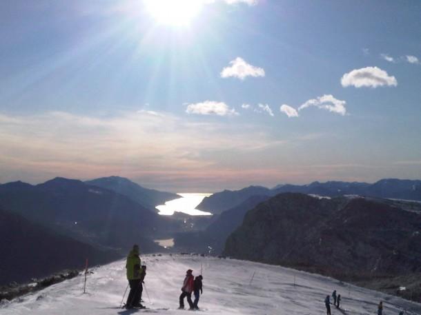 Skiën aan het Gardameer