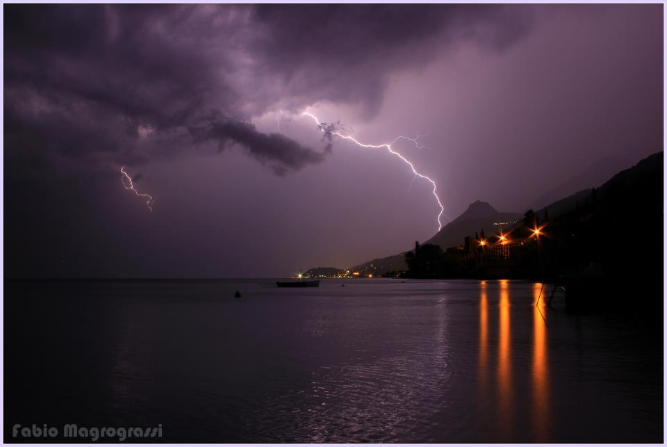 Het weer aan het Gardameer