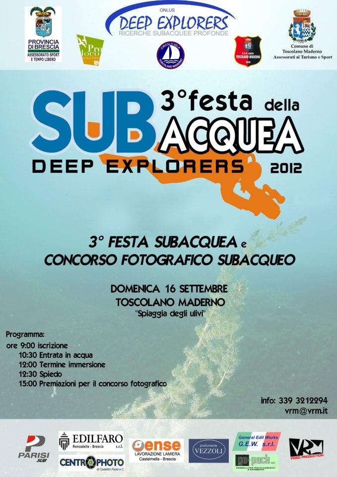 3° Festa Subacquea e Concorso Fotografica Subacqueo