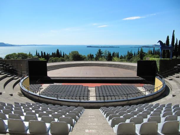 Gardameer openluchttheater