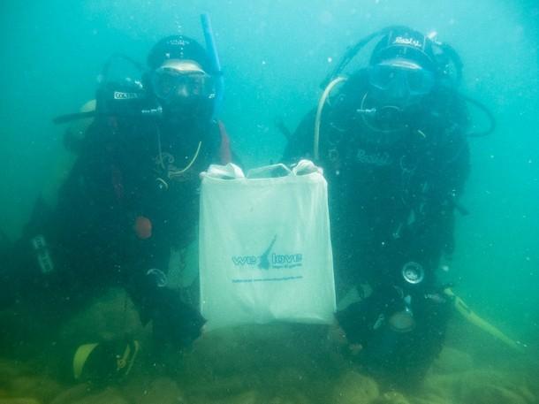 Wedstrijd onderwaterfotografie in het Gardameer