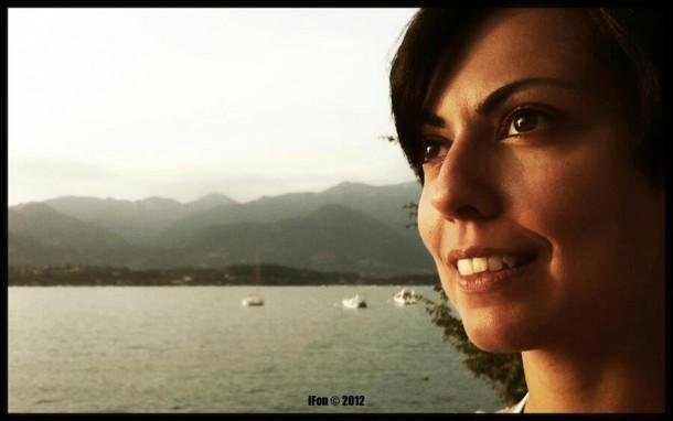 Photographer at Lago di Garda