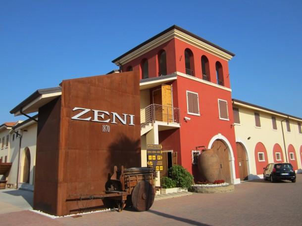 Een gekend wijnhuis in Bardolino aan het Gardameer