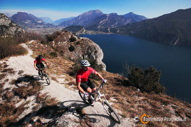 Mountainbike Gardameer