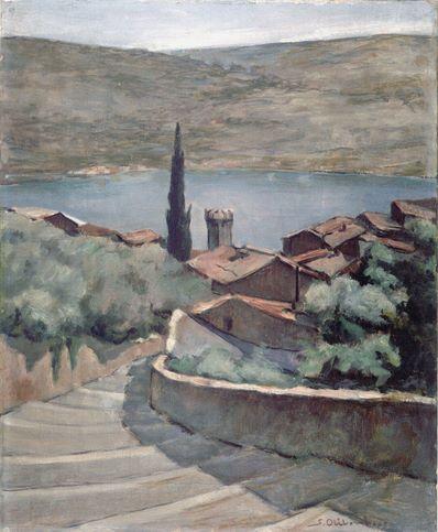 Lago di Garda painting 1937