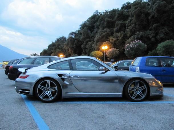 Porsche commercial Gardasee