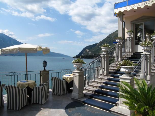 Hotels aan het Gardameer met een uitzicht over het meer