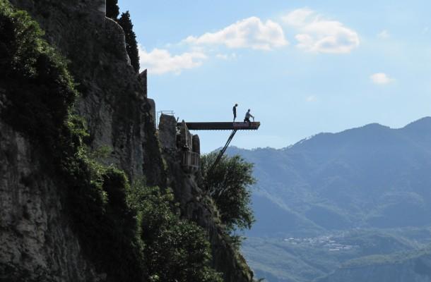Red Bull Cliff Diving Malcesine - Lago di Garda - Italy