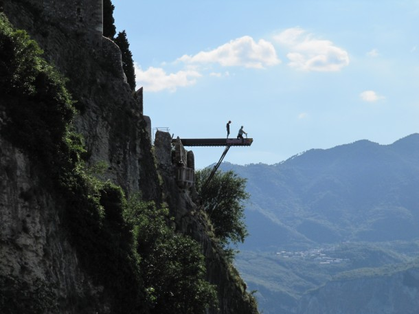 Red Bull Cliff Diving Malcesine - Lago di Garda - Italy