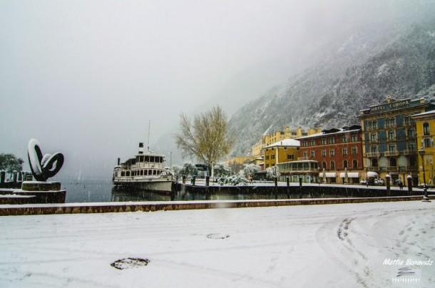 Winter aan het Gardameer