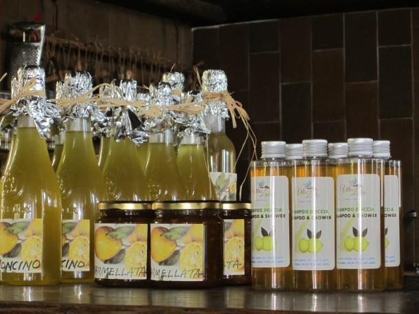 Limoncello, confituur en zelfs shampoo van biologische citroenen