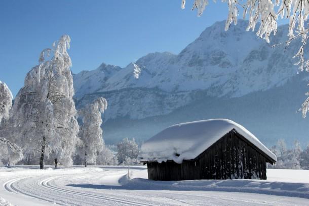 Winter in de Zugspitzarena